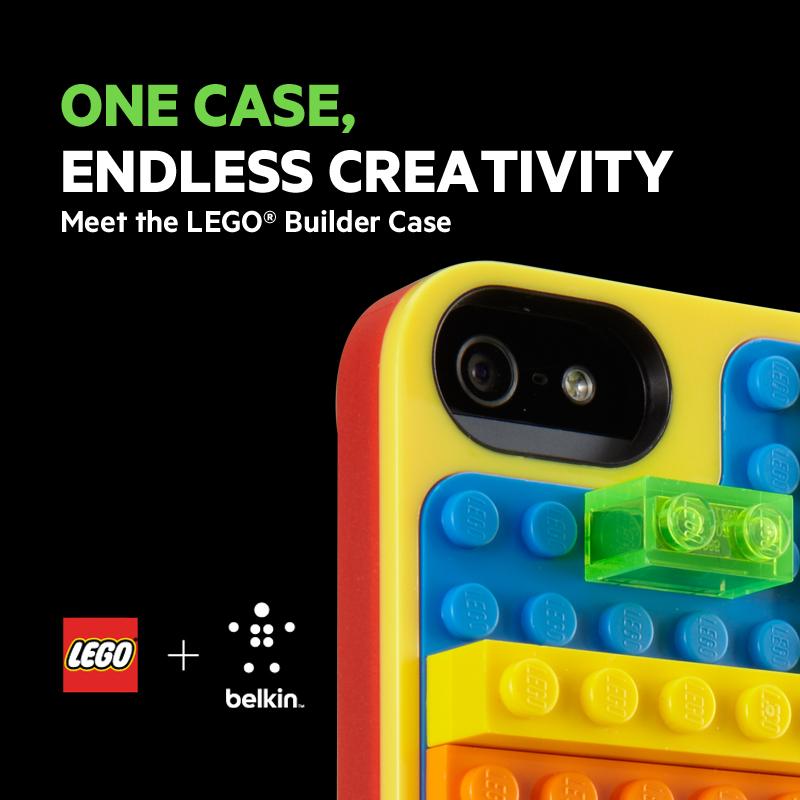 f1d8a912b58 La nueva funda LEGO® Builder para iPhone 5 y quinta generación de iPod  Touch despierta la creatividad en chicos y grandes en todo tipo de  habilidades, ...